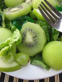 Food Fashion and Flow: The Most Amazing Green Salad Ever