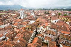 Torre delle Ore Clock Tower - Lucca, Italy