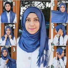 wear it like a hijab