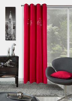 Perdea Yvette 140X250 Roșu 1 buc #homedecor #inspiration #interiordesign #decoration Curtains, Interior Design, Modern, Inspiration, Decoration, Home Decor, Nest Design, Biblical Inspiration, Decor