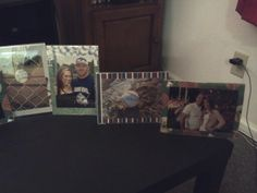 Framed baseball pics 1 Baseball Wedding Shower, Baseball Pictures, Polaroid Film, Frame, Decor, Picture Frame, Decoration, Baseball Photos, Decorating