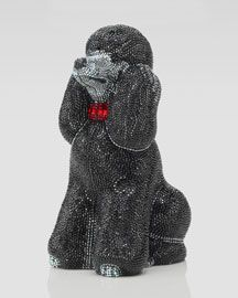 Judith Leiber French Poodle Minaudiere Your date to the party? Rendered in the finest Austrian crystals, this Judith Leiber poodle minaudiere is the ulti Judith Leiber, Expensive Handbags, Expensive Purses, Unique Handbags, Unique Bags, Tutorial Photoshop, French Poodles, Evening Bags, Clutch Bag