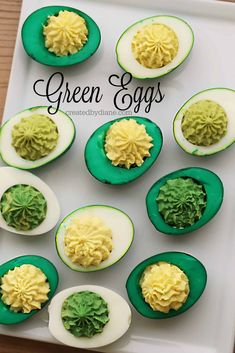 Green Eggs, dying eggs, colored eggs, colring eggs, createdbydiane.com Types Of Ham, Egg Crates, Deli Ham, Using A Pressure Cooker, Sliced Ham, Green Eggs And Ham, Thin Mints, Green Food Coloring, Girl Scout Cookies