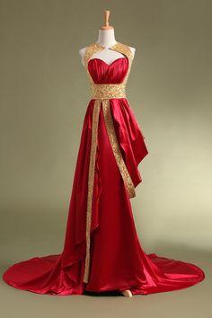 2017 Arabic Red Muslim Evening Dresses Kaftans Islamic Abaya Floor Length Beading Sequin Formal Dress For Weddings Party Gowns Sequin Formal Dress, Gold Prom Dresses, Formal Dresses For Weddings, Mermaid Prom Dresses, Cheap Prom Dresses, Prom Gowns, Dress Prom, Bride Dresses, Dress Long