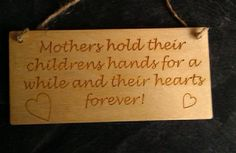 ENGRAVED PLAQUE - MUM, MUMMY, MOTHERS DAY GIFT - PRESENT - The Supermums Craft Fair