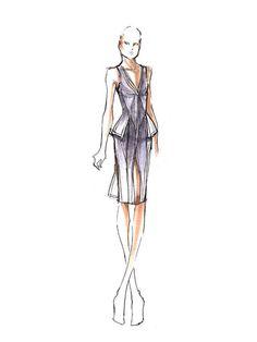 Sneak peek at NYFW: Herve Leger by Max Azria http://www.cosmopolitan.com/celebrity/fashion/a-sneak-peek-at-spring-2014-fashion