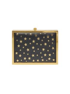 77126dfe78e This whimsical box clutch includes a removable chain shoulder strap and a  laser cut star print (it really is out of this world). Quirky Purse
