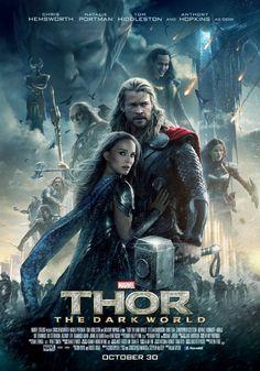 Thor: The Dark World. Eighth movie of Marvel 2013 All Marvel Movies, Marvel Movie Posters, Movie Posters For Sale, Avengers Movies, Poster Marvel, Beau Film, Chris Hemsworth, Odin Marvel, Marvel Facebook