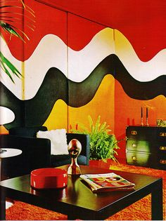 Making Waves. Practical Encyclopedia of Good Decorating and Home Improvement 1970