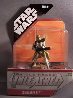 Star Wars Unleashed Commander Bly by Hasbro. $9.99. We Ship out Fast !. Hot Collectible. New in Package. Star Wars Unleashed Commander Bly