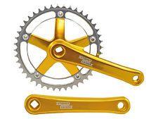 Pedivella Completo catena STURMEY ARCHER Kurbelset FTC66 oro