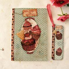 Recipe Book  Cupcakes by Minasmoke on Etsy, $19,50