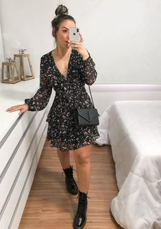 Cute Casual Outfits, Stylish Outfits, Casual Dresses, Looks Chic, Casual Looks, Look Casual Chic, Boho Fashion, Fashion Outfits, Womens Fashion
