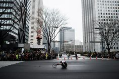 Tokyo Marathon 2015 wheelchair categoriesJAPAN, Tokyo: Marathon runners start the Tokyo Marathon 2015 from the Tokyo Metropolitan government building in Tokyo on February 22, 2015. More than 35,500 runners took part in the Tokyo MarathonPhoto: Pierre-Emmanuel Delétrée