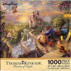 Your WDW Store - Disney Puzzle - Thomas Kinkade - Beauty and The Beast - 1000pc