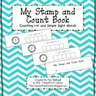 Stamp & Count Book Freebie Simply print the pages, cut on the dashed lines and staple the pages in order on the left...