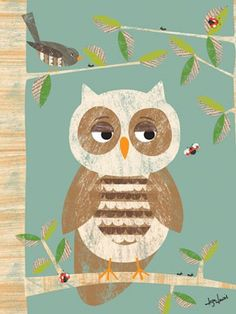 Rosenberry Rooms has everything imaginable for your child's room! Share the news and get $20 Off  your purchase! (*Minimum purchase required.) Owl in the Woods Canvas Wall Art #rosenberryrooms