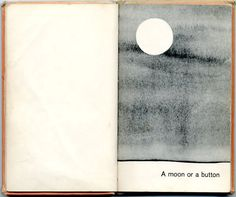 A Moon or a Button: A Collection of First Picture Ideas by Ruth Krauss and Remy Charlip, 1959