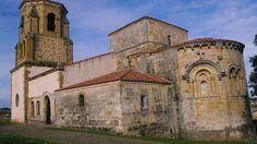 Fotos de: Cantabria - Románico - Iglesia  de Sta  Mª de Bareyo