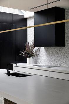 Latest Kitchen Designs, Modern Kitchen Design, Interior Design Kitchen, Contemporary Architecture, Interior Architecture, Open Plan Kitchen, Kitchen Ideas, Kitchen Inspiration, Brighton Houses