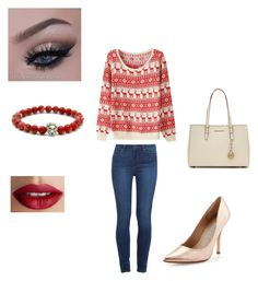 """""""Untitled #11"""" by skaur-i on Polyvore featuring Paige Denim, Charles David, MICHAEL Michael Kors and TheBalm"""