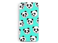 Panda iPhone 5c case, Cute iPhone 5c Case, Kawaii iPhone 5c, iPhone 5c Case, iPhone 5s Case, illustration, Cute animal iPhone 5c case