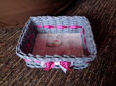 Košíček růžový