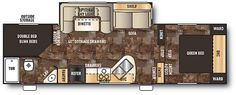 """Cherokee 265B Fifth Wheel by Forest River - length 30'1"""""""