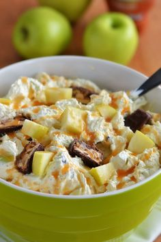 The Country Cook: Snickers Caramel Apple Salad