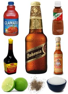 The BEST michelada recipe. Cocktails, Party Drinks, Cocktail Drinks, Fun Drinks, Cocktail Recipes, Beverages, Drink Recipes, Tajin Recipes, Cocktail Ideas