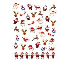 Christmas Nail Sticker #1 - Holiday Collection  $2.99