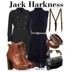 Captain Jack Harkness: but how would you wear suspenders with a dress?