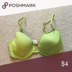Lime Green Bra! Great Condition - 34C T-Shirt Bra Xhilaration Intimates & Sleepwear Bras