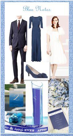 Blue wedding ideas - Norah Sleep Weddings Blog