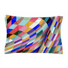 East Urban Home Different by Danny Ivan Pillow Sham Size: King