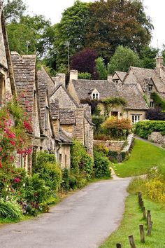 Picture of Picturesque old stone houses of Arlington Row in the village of Bibury, England stock photo, images and stock photography. Places In Europe, Places To Travel, Uk Europe, Edinburgh, The Places Youll Go, Places To Visit, Beautiful World, Beautiful Places, Most Beautiful