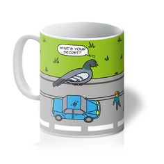 Mugs - Flipping The Bird (UK) - 11oz / White
