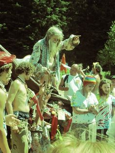 rainbow family gathering love