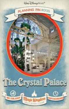 Walt Disney World Planning Pins: The Crystal Palace