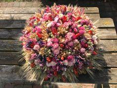 Zomerse droogbloemen decoratie