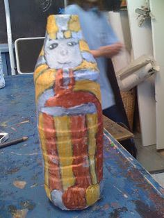 Imagine Explore Create: Egyptian Sarcophagi - Year 3/4