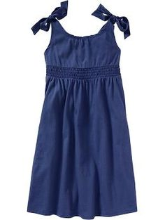 Girls Shoulder Tie Jersey Dresses cute comes in a lot of colors