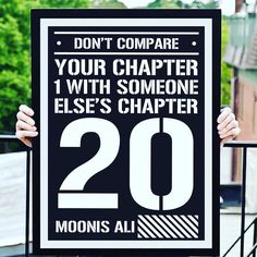 Don't Compare Your Chapter One with Someone Else's Chapter 20 Double Tap if you agree!  Tag a friend who needs this  Dedicated To All The Entrepreneurs  #entrepreneur #entrepreneurquotes #motivationalquotes #instaquotes #inspiration #bhopaldiaries #bhopal #newyork #vegas #london #indonasia #nevergiveup #internetmarketing #affiliatemarketing #onlinemarketing #makemoney