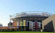 Ajax Amsterdam play their home games at the Amsterdam ArenA