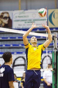 Alessandro Spanakis al palleggio