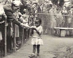 Human zoo in Belgium, 1958. Mainly black africans were exposed for the enjoyment of the whites.