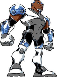 Animated Cyborg