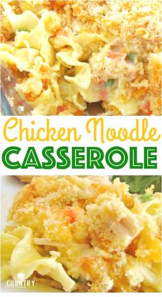 noodle casserole Chicken Noodle Casserole recipe from The Country Cook. Easy and a huge family favorite.Chicken Noodle Casserole recipe from The Country Cook. Easy and a huge family favorite. Pasta Dishes, Food Dishes, Easy Casserole Recipes, Easy Family Recipes, Hotdish Recipes, Easy Dinner Casserole, Family Reunion Recipes, Quick And Easy Recipes, Cheap Family Meals