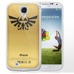 Zelda Force Logo on Gold iForce iPhone Samsung Galaxy TPU Rubber Case Protector #TPUCaseDesign