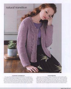 Vogue Knitting Early Fall 2017 - 轻描淡写 - 轻描淡写